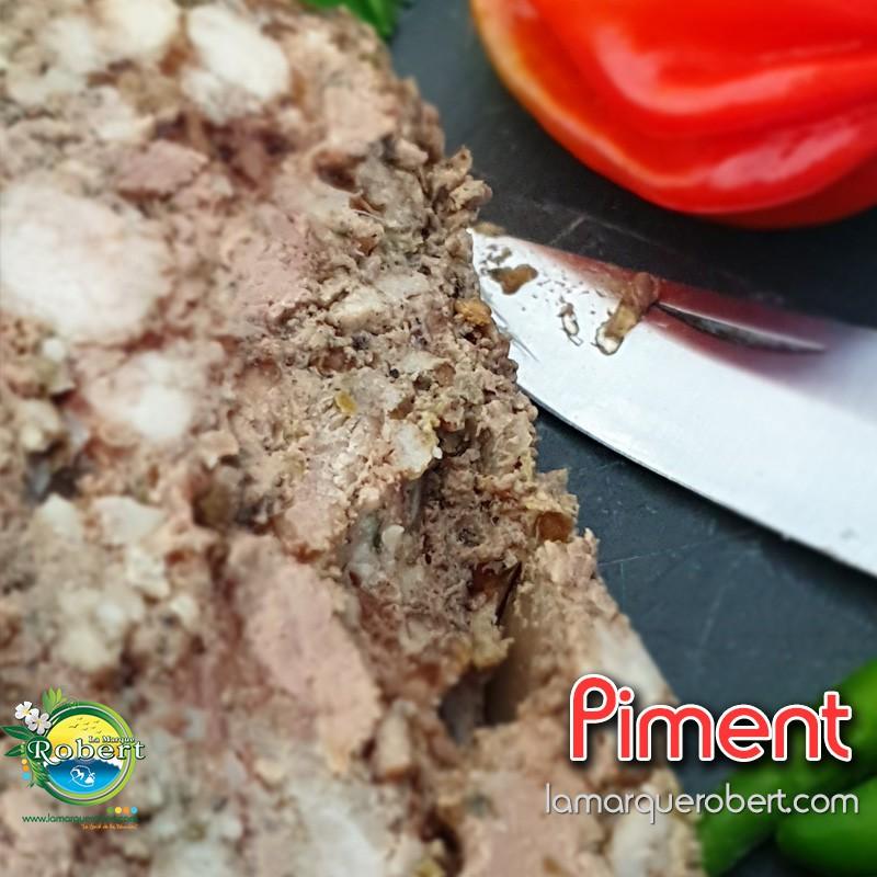 Pâté de Campagne Porc/Piment Zoizo