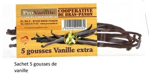 Vanille Standard 5 Gousses